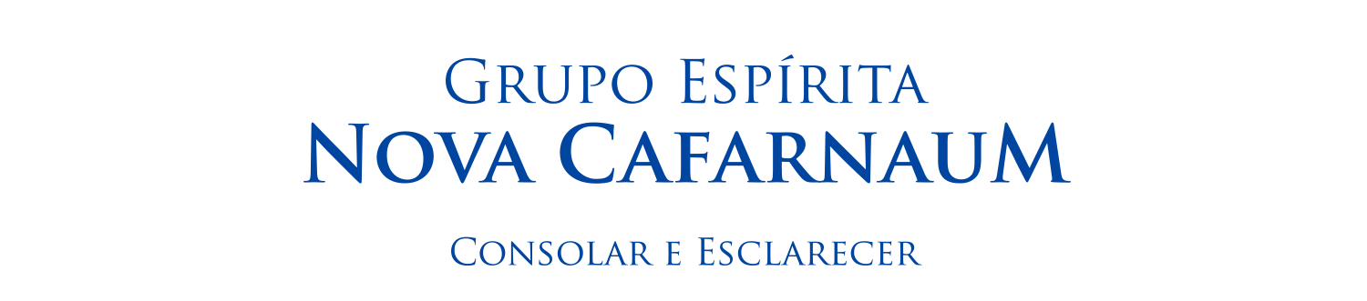 Blog do Grupo Espírita Nova Cafarnaum