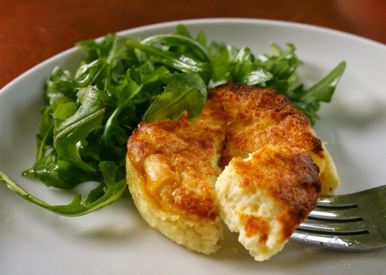 "37 Cooks: Parmesan Sformato - Italian Cheese ""Flan"" or ""Souffl..."