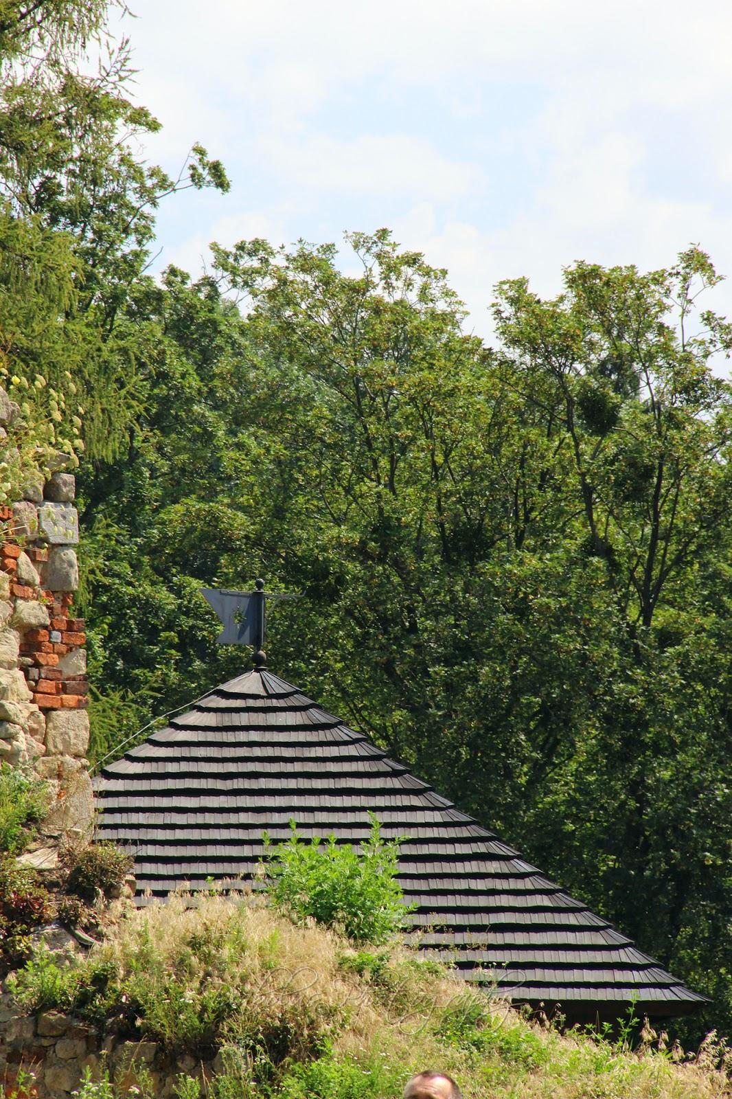 Střecha vstupní věže/The Roof of Entrancce Tower