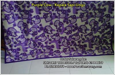 purple cow selimut karakter kartun kamar anak kado