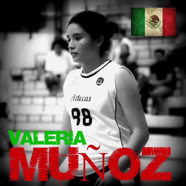 Valeria Muñoz basquetbol