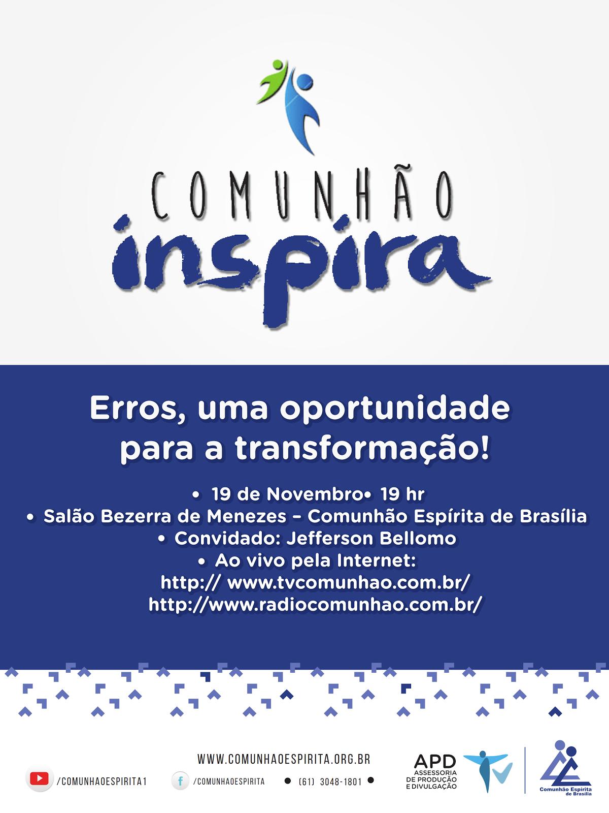 Comunhão Inspira - Novembro