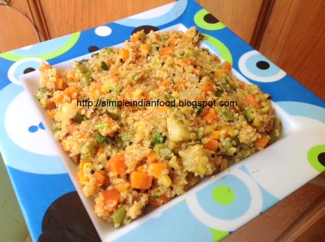 Simple indian food an easy cooking blog samba wheat kichadi samba wheat kichadi forumfinder Gallery