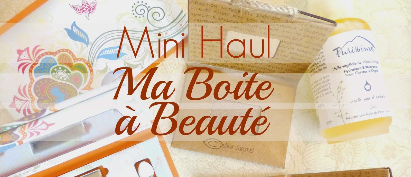 Mini Haul soldesque Ma Boite à beauté