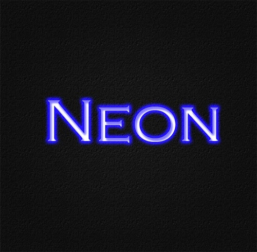 Simple and Easy Neon Text Effect In Photoshop