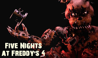 Screenshots of theFive nights at Freddy's 4  for Android tablet, phone.