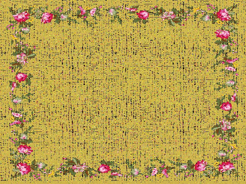 Marcos Para Tarjetas De Flores