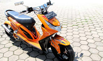 motor honda beat modifikasi