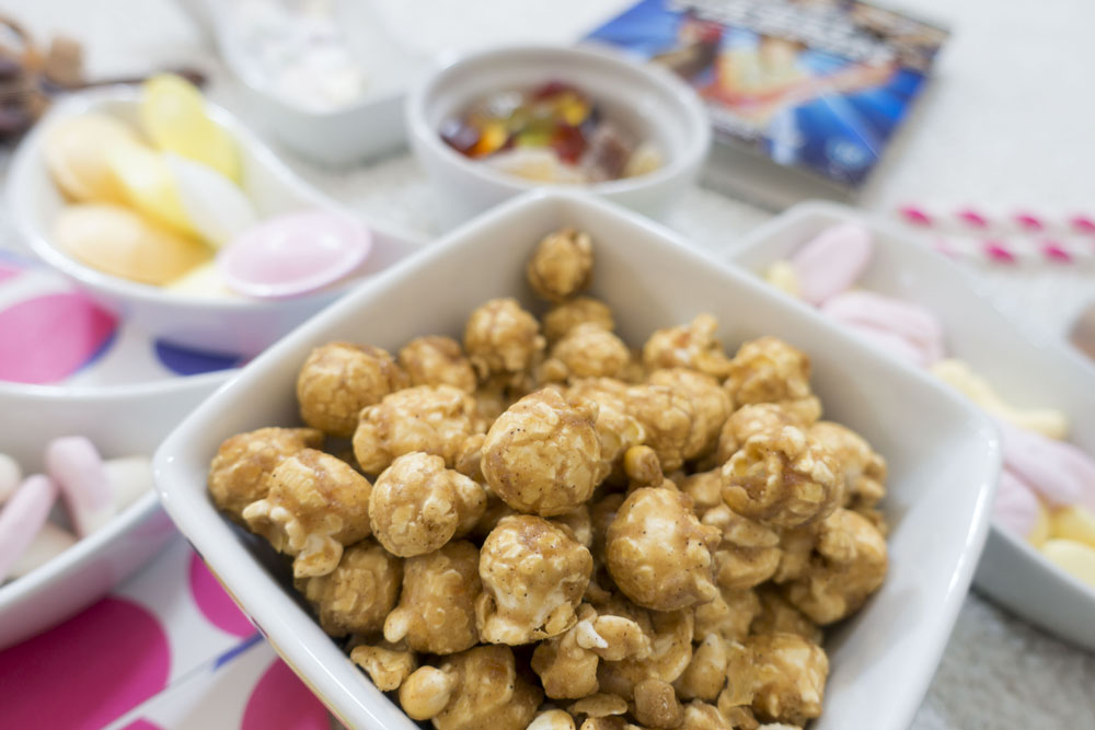 Popcorn, Flying Saucers & Paper Bags | Movie Night At Home