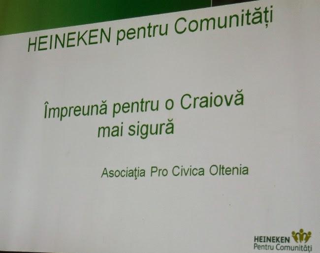 Impreuna pentru o Craiova mai sigura