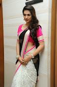 Shaddha das glamorous photos in saree-thumbnail-16