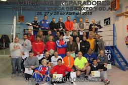 Curso Boxeo entrenador regional