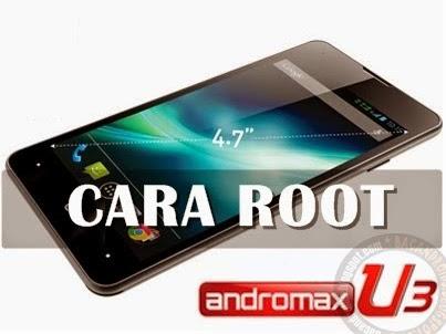 cara mudah dan aman Root andormax u3