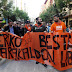 """Cientos de personas se manifiestan en apoyo a Periko Solabarria y contra los juicios """"políticos"""""""