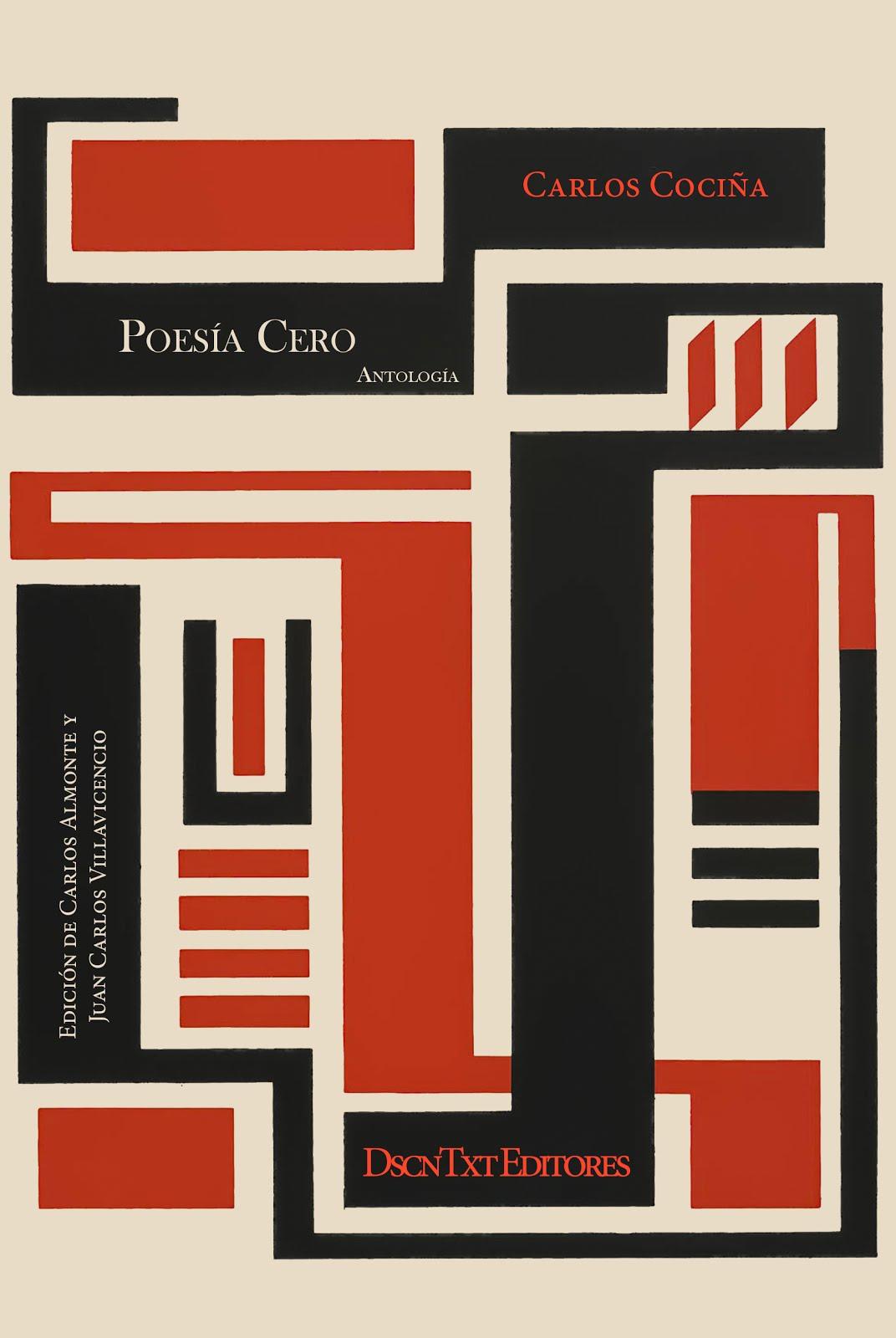 Poesía Cero, de Carlos Cociña. Edición de Almonte y Villavicencio