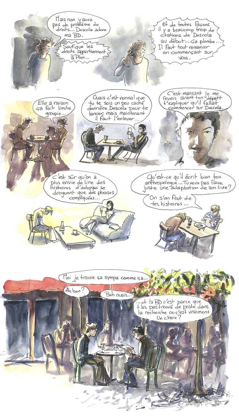 bande dessinée sur les Jivaros Achuar