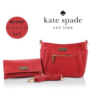 Tas KW Kate Spade Cross Set Semi Premium G005MV Jakarta