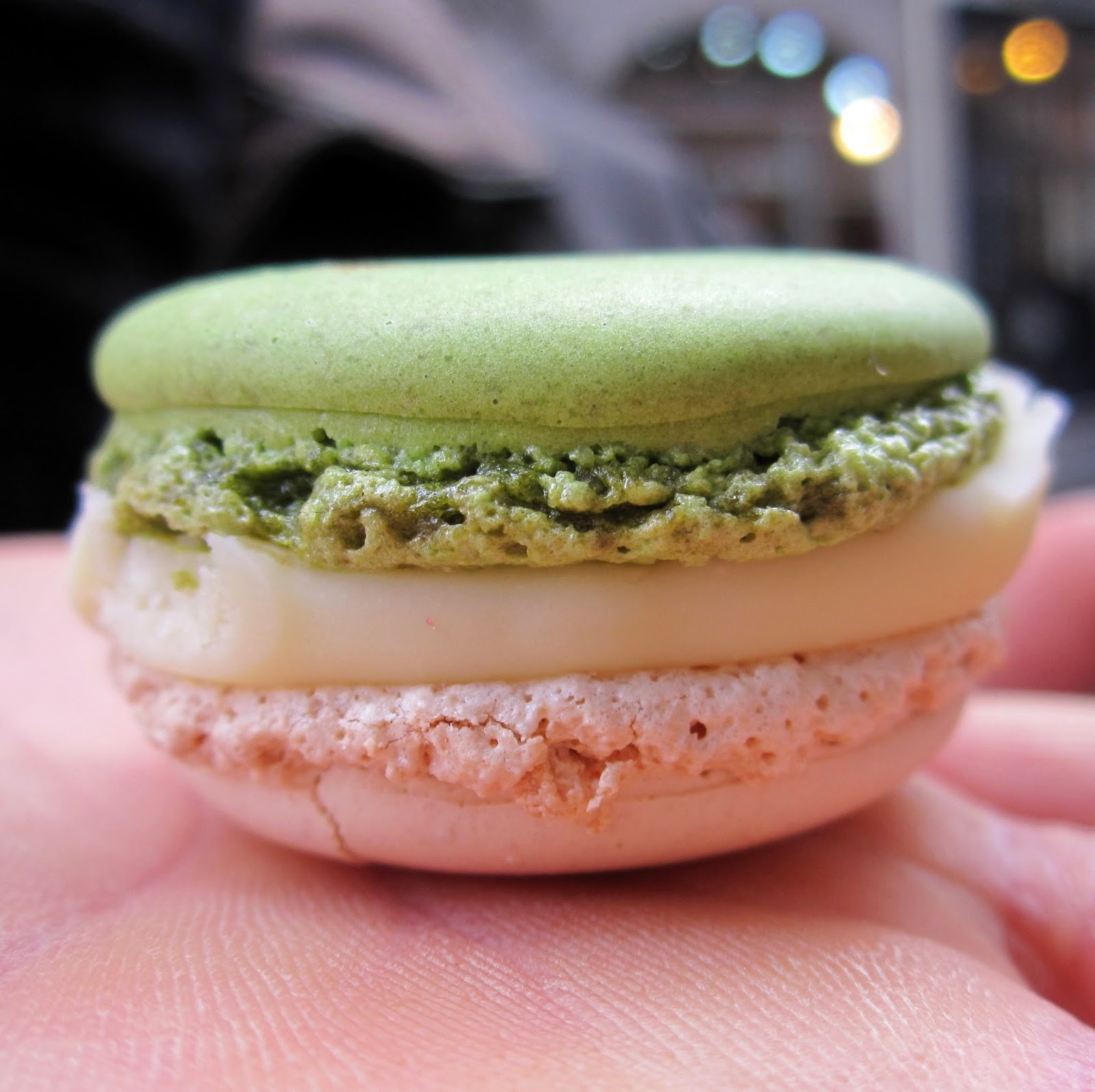 Pierre Hermé Macaron Yogurt Lime Paris 2014