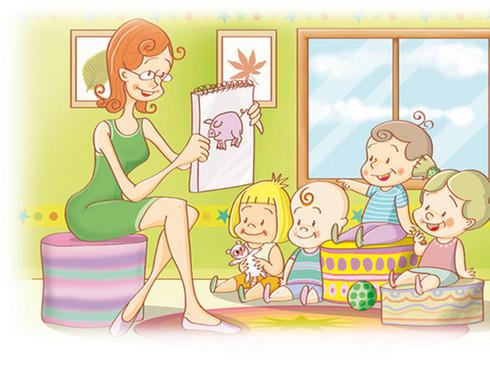 La carpeta de olga febrero 2012 - Ninos en clase dibujo ...