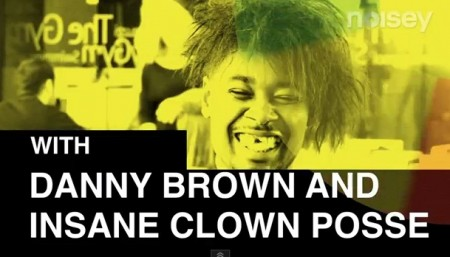 DannyBrown ICP Danny Brown does Gathering Of The Juggalos (Video)