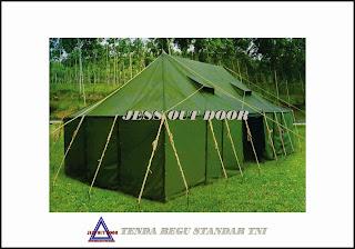 Pabrik, Tempat, Produksi, Tenda Regu Militer TNI
