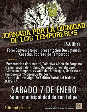 SAN FELIPE: JORNADA POR LA DIGNIDAD DE L@S TEMPORER@S