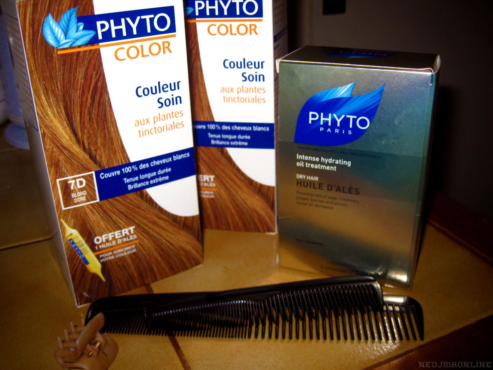 mon choix sest donc port sur phyto color des laboratoires phytosolba jai choisi la teinte blond dore 7d dispo ici qui se rapproche de la couleur que - Phyto Coloration
