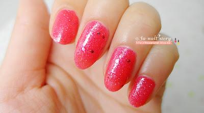 OPI Nail Lacquer Mariah Carey Liquid Sand M48 Red Glitter Nail Polish