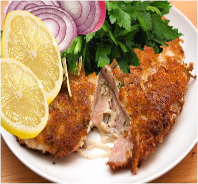 yummly chicken cutlets with spicy garlic kale herbed chicken cutlets ...