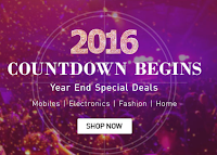 Snapdeal 2016 Countdown Begins : Year End Special Deals offer