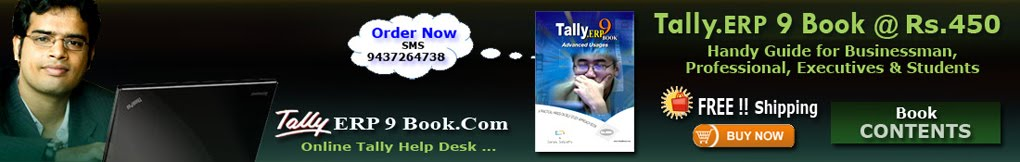 Blog @ www.TallyERP9Book.Com -