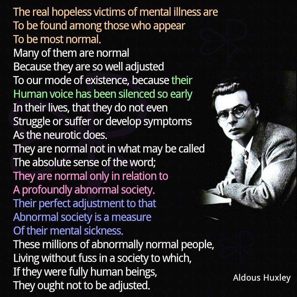 Aldous on Society