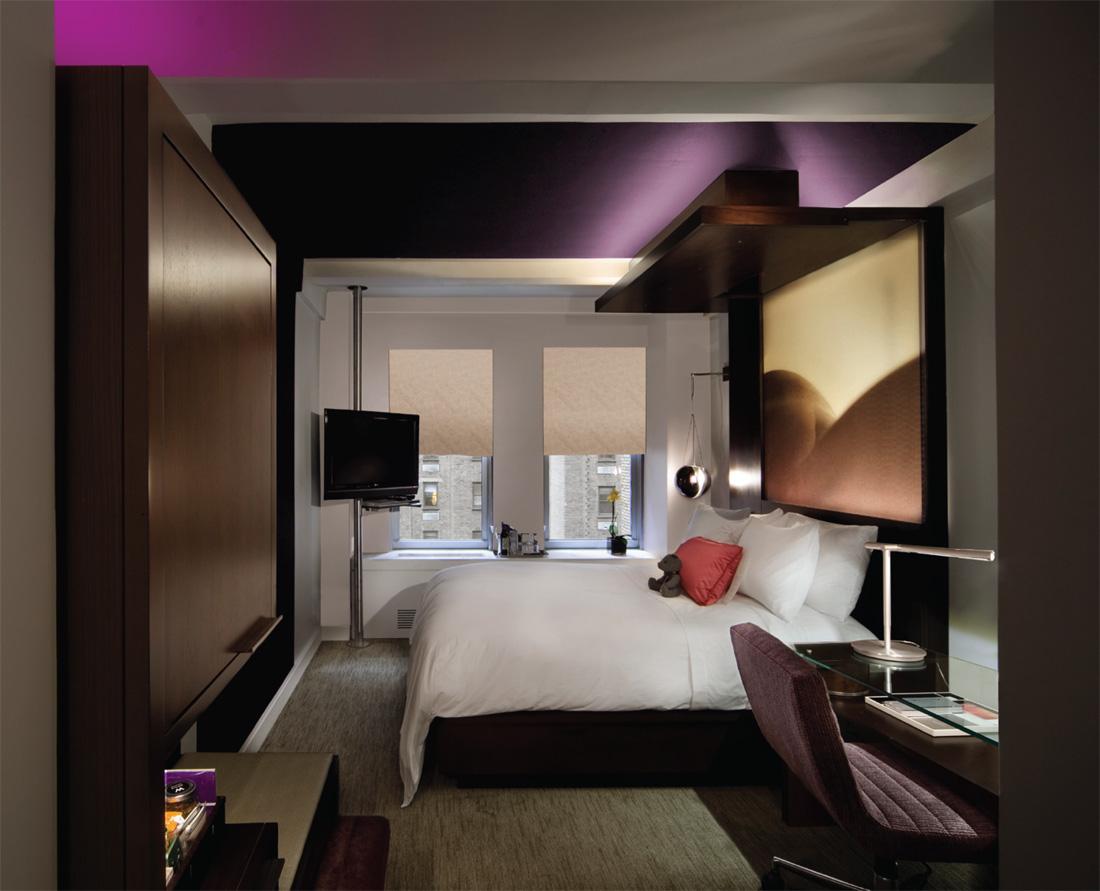 new york luxury hotel room w hotel ny
