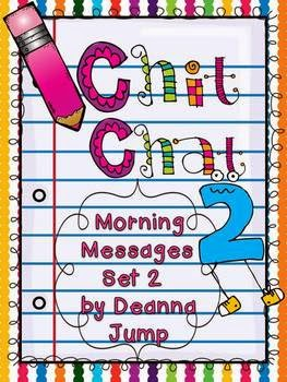https://www.teacherspayteachers.com/Product/Chit-Chat-Morning-Messages-Set-2-aligned-with-Common-Core-Standards-400912