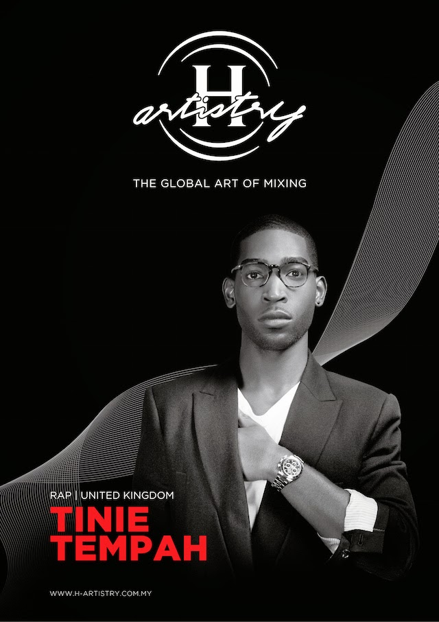 "Tinie Tempah, famous for his #1 hit on the UK Singles Chart debut single ""Pass Out"""