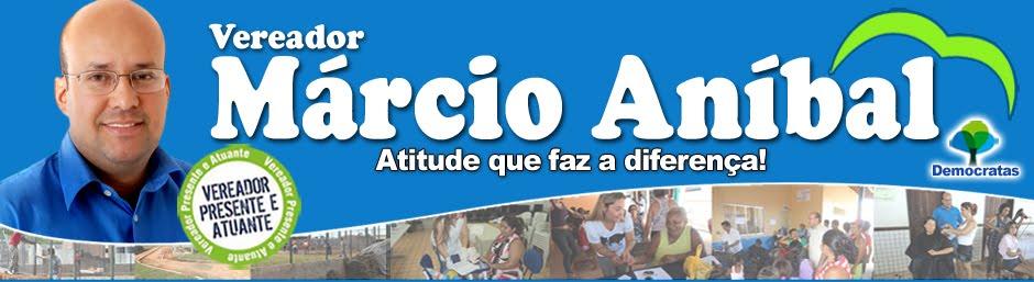Vereador Márcio Aníbal