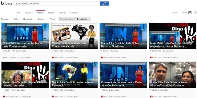 Diga não ao racismo Maria Julia Coutinho - Busca Vídeos Microsoft Bing