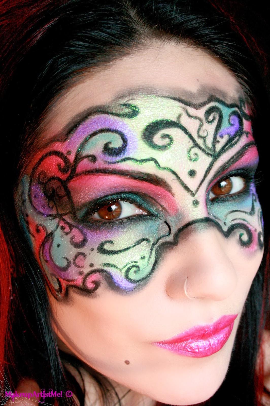 Make Up Artist Me Masked Beauty Masquerade Costume
