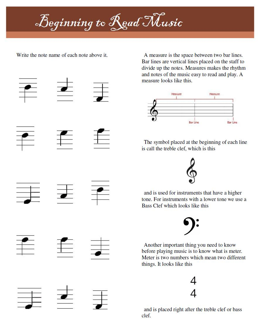 Workbooks violin note reading worksheets : Musical Strings: December 2012