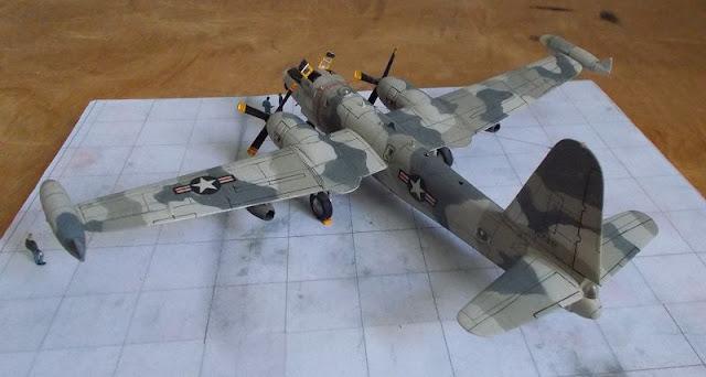Happyscale-Modellbau: Lockheed OP-2E Neptune - aeroclub 1/144