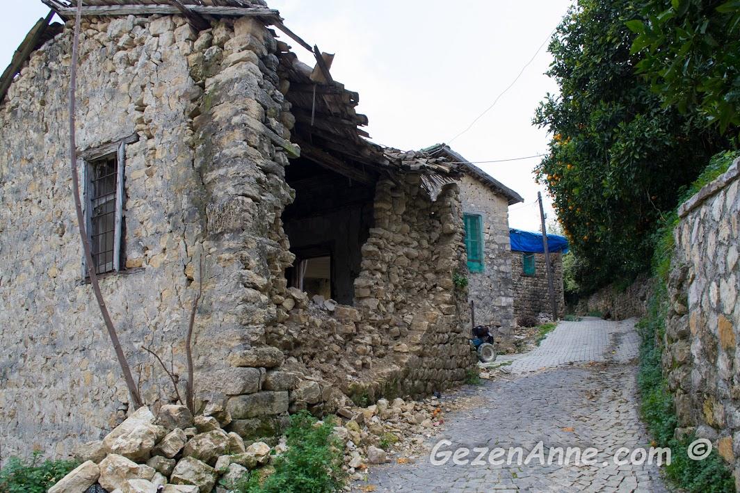 Hıdırbey köyündeki eski evler, Samandağ Hatay