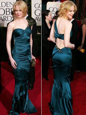 Nicole Kidman's CMA Dress: Bare Back! (PHOTOS)