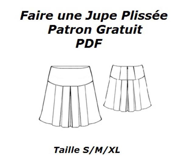 Préférence Comment faire une jupe plissée tendance et chic Bettinael.Passion  EZ34