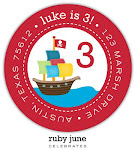 We love these party return address labels!