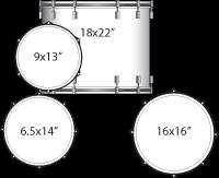 Ludwig Drum Set - Legacy Exotic Series