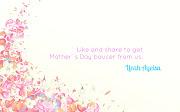 . untuk Hari Ibu. So boleh share gambar berikut diaccount anda.