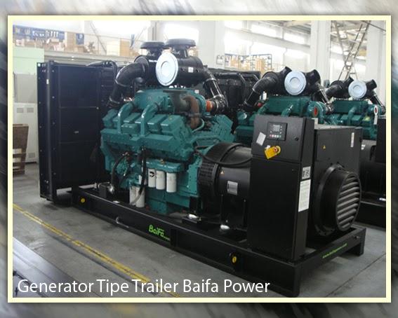 Pemadaman Listrik Melanda? Atasi Dengan Generator Tipe Trailer Baifa Power