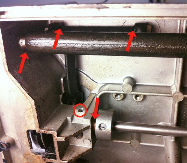 sewing machine handwheel to turn