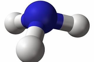 Ammonia molecule