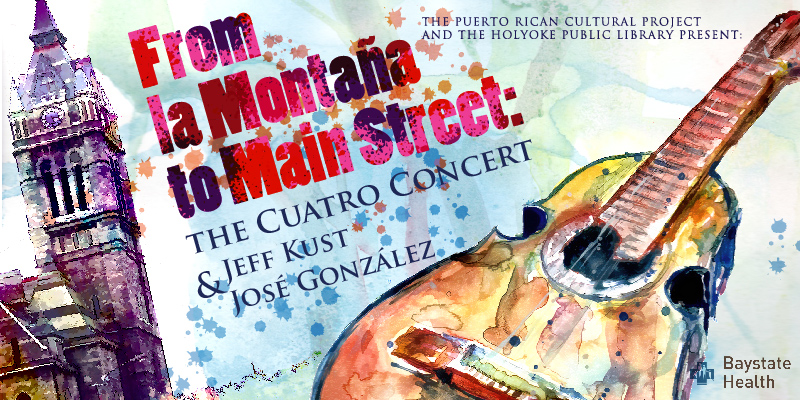 the puerto rican cuatro will be the star instrument in a christmas music concert by american born jeff kust and puerto rican born jos gonzlez - Puerto Rican Christmas Music